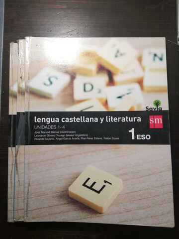 Lengua castellana y literatura 1 ESO SM - foto 1