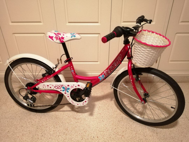 "bicicleta B-PRO  20"" para niña - foto 1"