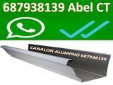 Canalon aluminio DE zINC  cOBRE NATURAL - foto