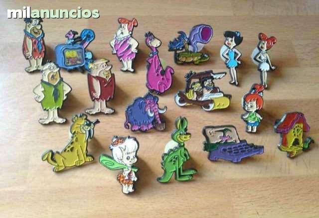 Pins los picapiedra (aÑos 80) - foto 1