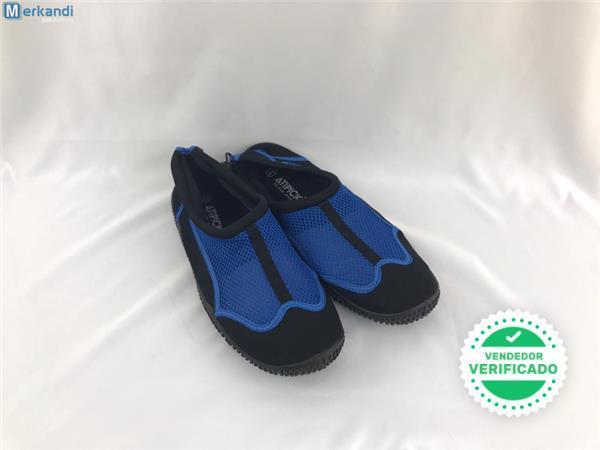 Escarpines neopreno negro/azul Tallas su - foto 1