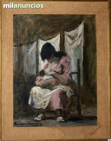 Pintura de enrique navarro - maternidad - foto 1