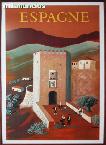 Cartel iberia - espagne, castillo - foto 1