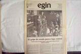 EGIN - EDICIÓN DEL 23-F