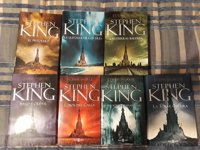 La Torre Oscura 1-7,+ 8 regalo S King - foto 1