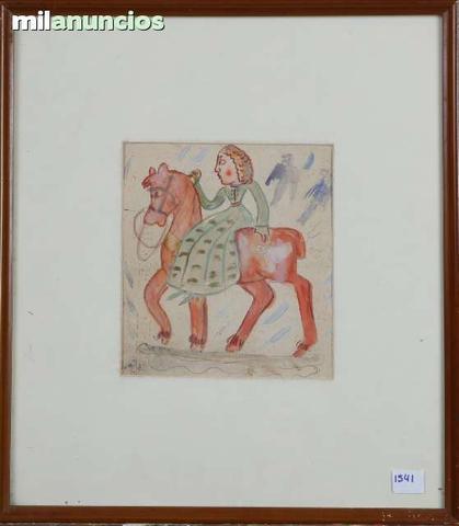 Dama a caballo de manuel baeza - foto 1