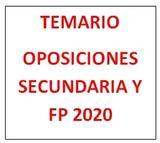 TEMARIO OPOSICION FP PELUQUERIA