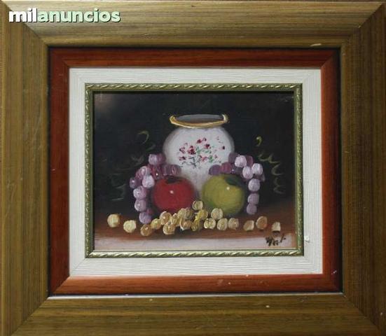 Cuadro de bodegÓn de frutas con jarrÓn - foto 1