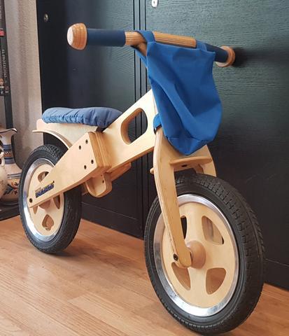 Bicicleta de Madera ecológica para niños - foto 1