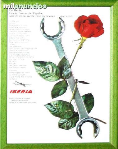 Cartel iberia - la rosa y la llave - foto 1
