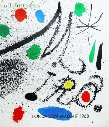 Joan mirÓ - fondation maegth 1968 - foto 1