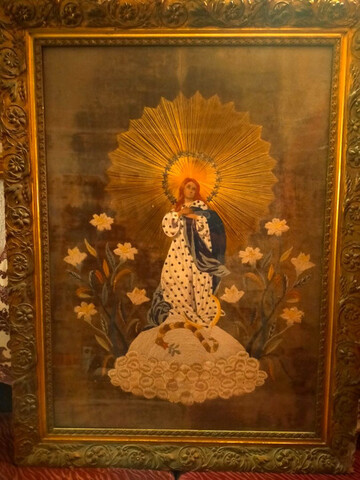 Antiguo tapiz INMACULADA CONCEPCIÓN - foto 1