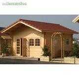 montadores de casas de madera - foto