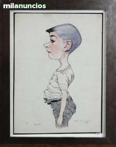 Dibujo de x. cugat (jordi) - foto 1