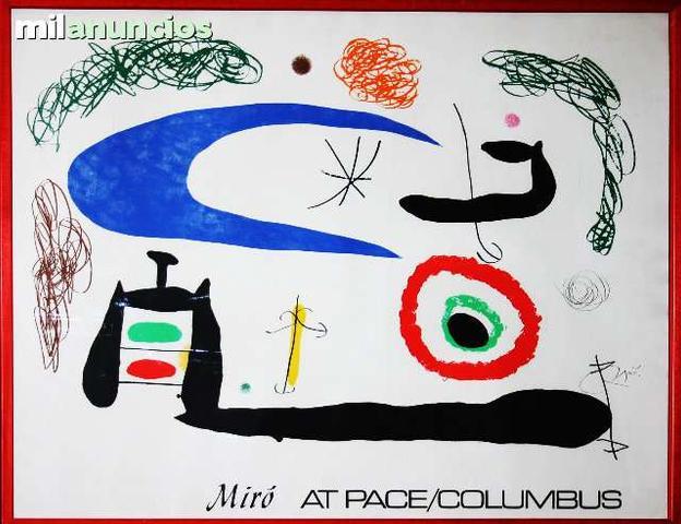 J.mirÓ - mirÓ at pace columbus/pequeÑo - foto 1
