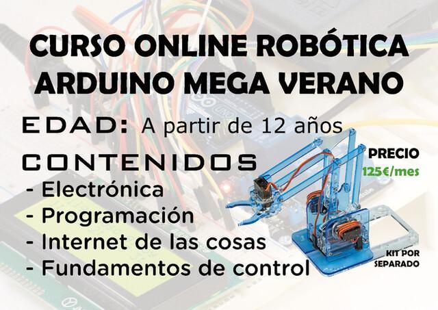 CURSO ONLINE ROBOTICA VERANO JÓVENES - foto 1
