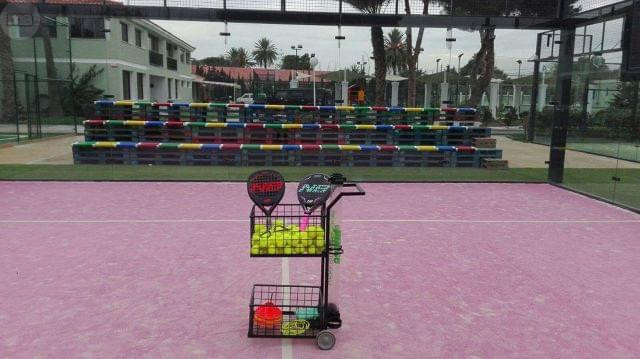 Carro de pelotas para padel o tenis - foto 1