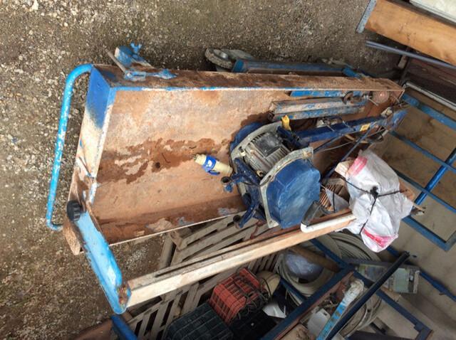 Máquina corta azulejos baldosa agua  - foto 1