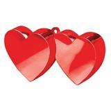 Pesas para globos Corazones Rojos 170g - foto
