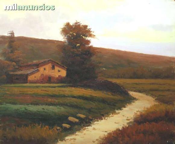 Pintura de joan casellas, paisaje otoÑal - foto 1