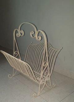 soporte decorativo de hierro  - foto 1
