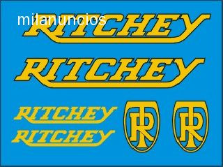 Kits Pegatinas Ritchey - foto 1