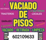 LIMPIEZAS Y VACIADOS PISOS TRASTEROS ECT - foto