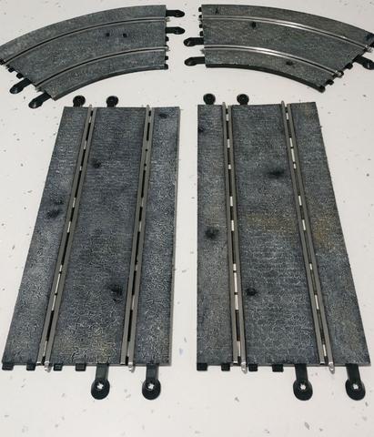 Scalextric pistas empedradas - foto 1