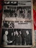 PERIóDICO YA SOBRE  NUEVO GOBIERNO 1973