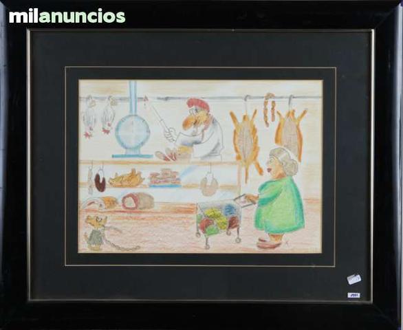 Dibujo de xavier cugat - boucherie - foto 1