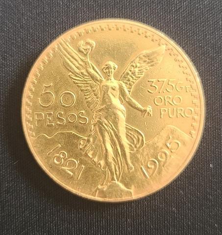 Moneda de Oro 50 pesos mexicanos - foto 1