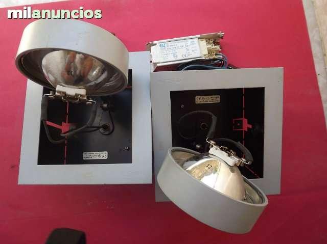 OJOS DE BUEY CUADRADOS  lamparas focos - foto 1