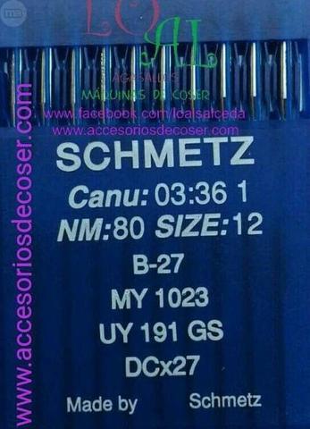 Aguja B27 para Remalladora industrial - foto 1