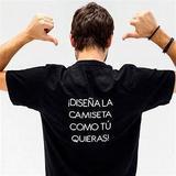 Camisetas personalizadas. - foto