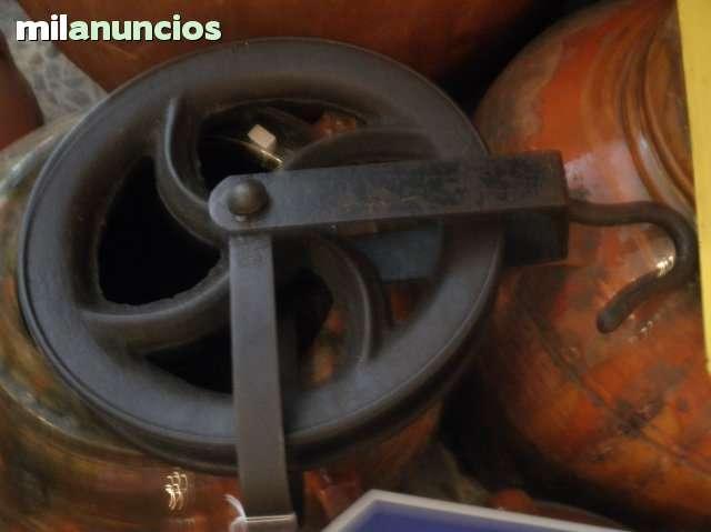 Antigua polea de hierro forjado 29 cm !! - foto 1