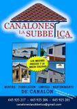CANALON CANALONES