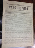 FARO DE VIGO 3 DE NOVIEMBRE DE 1853
