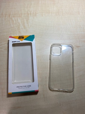 Funda silicona trasparente Iphone 11 PRO - foto 1
