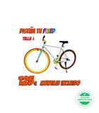 Bicicleta fixie personalizada talla l co - foto