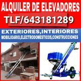ALQUILER de elevadores Madrid - foto