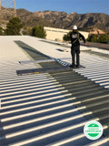 Reparacion cubiertas tejados naves - foto