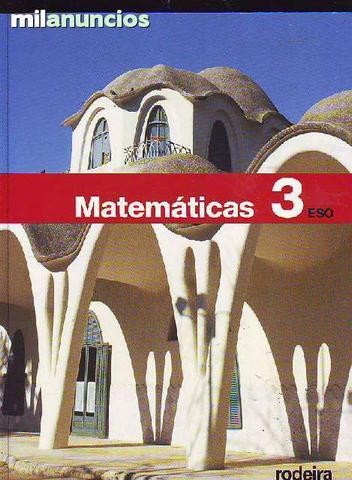 MatemÁticas 3 rodeira (obra colectiva) - foto 1