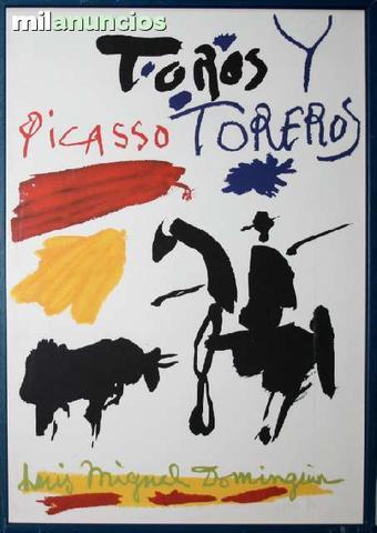 Pablo picasso - toros y toreros - foto 1