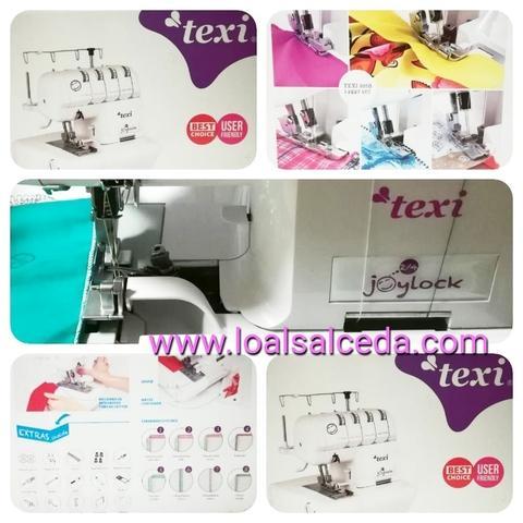 Maquina de coser remalladora texi - foto 1