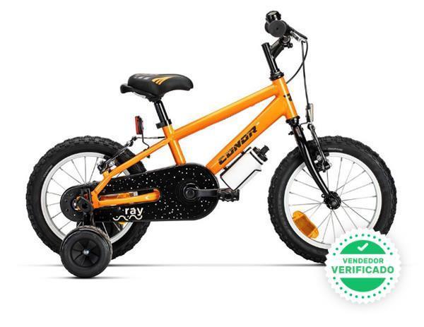 "bicicleta conor ray \""14\"" naranja - foto 1"