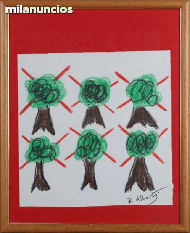 Dibujo de rafael alberti - Árboles - foto 1