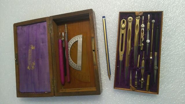Juegos de compases circa 1900 instrument - foto 1