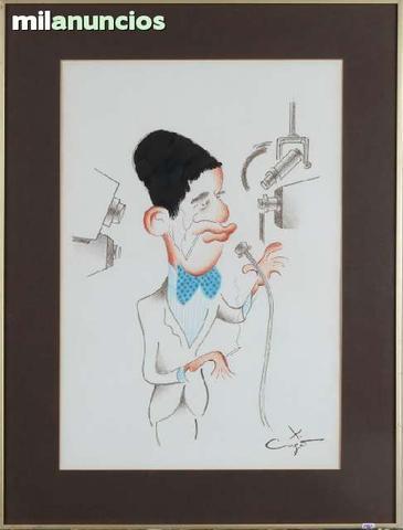 Caricatura original de x.cugat - foto 1