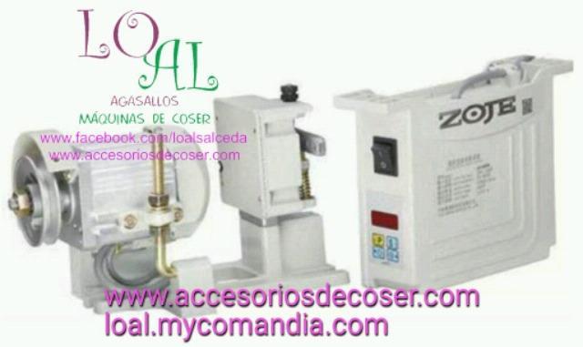 Motor servo de 750W maquina de coser - foto 1