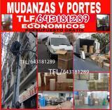 MUDANZAS Madrid PORTES ELEVACIONES  - foto
